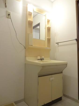 セジュールI・II II-A 208号室の洗面所