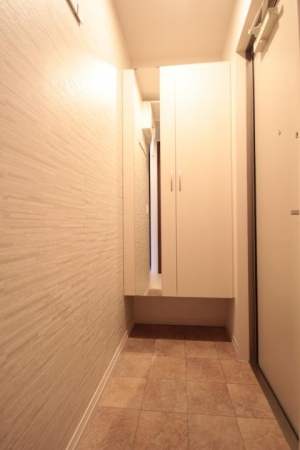 シャトーブリアン 301号室の玄関