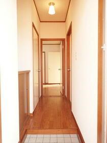 シャルムアイB棟 201号室のキッチン