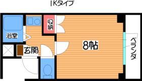 シャリエ飯倉・302号室の間取り