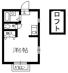 ウイングコートM・0202号室の間取り