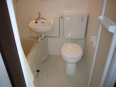 西浦マンション 31号室の風呂