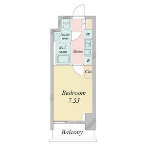 プライムアーバン栄・0402号室の間取り