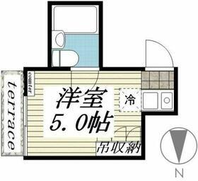メゾン・ド・吉祥寺・0106号室の間取り