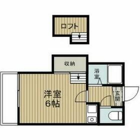 Livex38・201号室の間取り