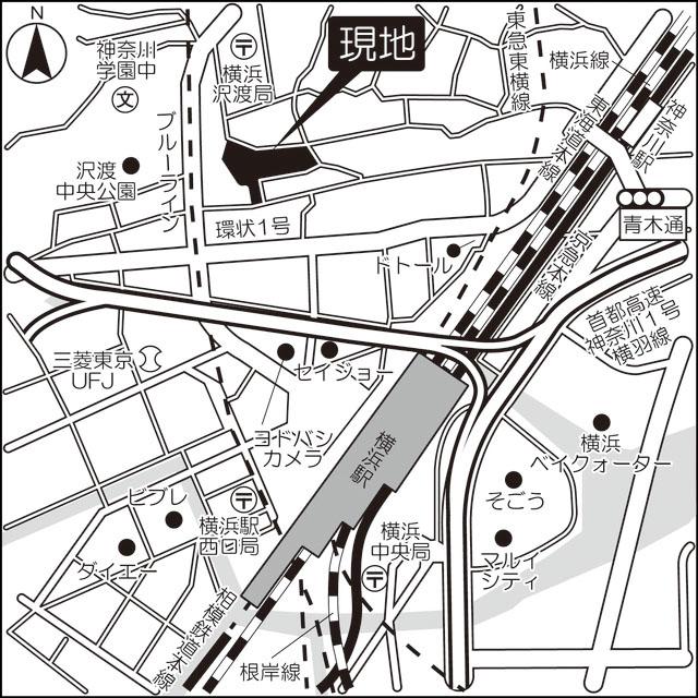 ブローテ横浜高島台外観写真