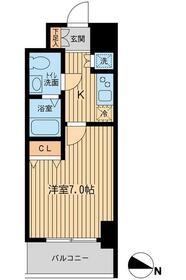 KDXレジデンス立川・0303号室の間取り