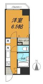 レジーナ浅草橋・303号室の間取り