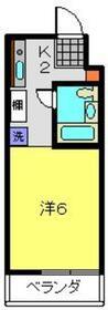 M-STAGE-Ⅲ・302号室の間取り