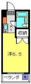 メゾン桜ヶ丘F棟・303号室の間取り