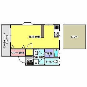 リバティハイツ神松寺・103号室の間取り