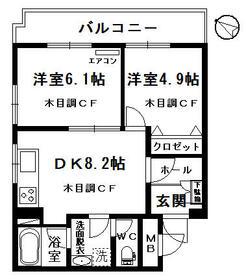 晃榮(こうえい)ビル・205号室の間取り