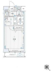 ラフィネジュ横浜南・302号室の間取り