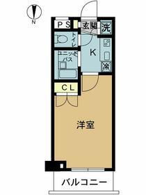 スカイコート東京ベイ東雲・209号室の間取り