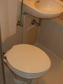 スカイコート田端 603号室のトイレ