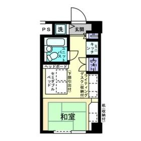 アルファコンフォート横浜 506号室の間取り