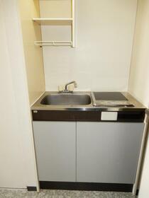 アクシルコート新大橋 00813号室のキッチン