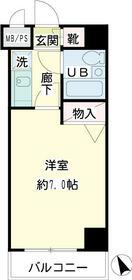 ライオンズマンション相模大野第6・00407号室の間取り