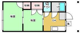 東光ハイツ三浦海岸・102号室の間取り
