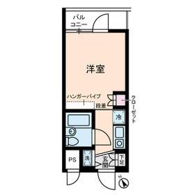 梅林の丘マンション・0303号室の間取り