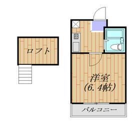 シティパレス浅羽5-1 102号室・102号室の間取り