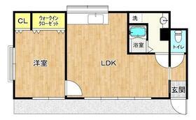 山田住宅A棟(上広岡)・7号室の間取り