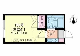 ライフピア・ガーネット・106号室の間取り