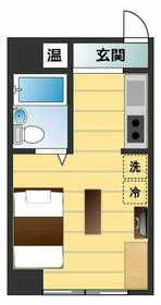 ユニーブル新栄 803号室の間取り