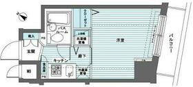 トーシンフェニックス日本橋蛎殻町弐番館・602号室の間取り