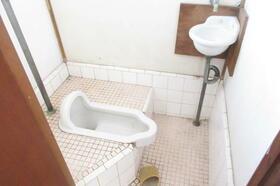 静荘 202号室のトイレ