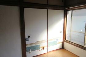 静荘 202号室の収納