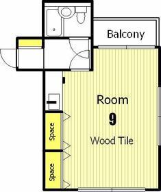 第2正美堂ビル 705号室の間取り