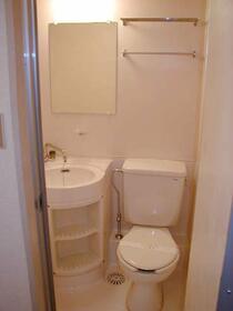 第2正美堂ビル 705号室のトイレ
