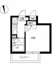 スカイコート戸田公園第4・405号室の間取り