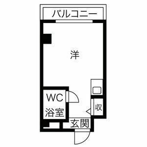 プレアール吹田泉町Ⅱ・110号室の間取り