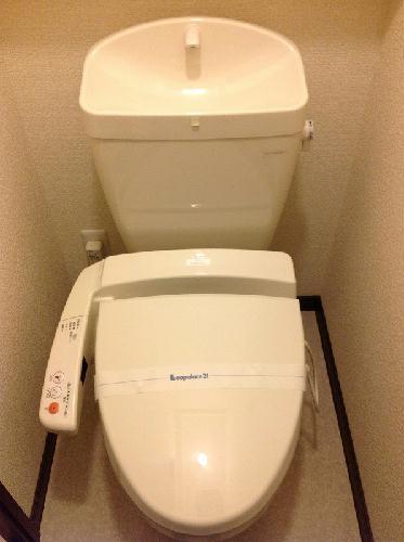 レオネクストメール西門 204号室のトイレ