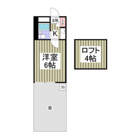 RARA野田No.1・102号室の間取り