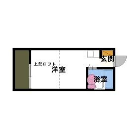 ハイツニシヤマ・201号室の間取り