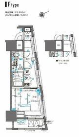 ZOOM横浜桜木町・506号室の間取り