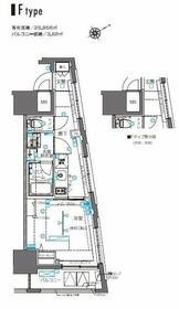ZOOM横浜桜木町・606号室の間取り