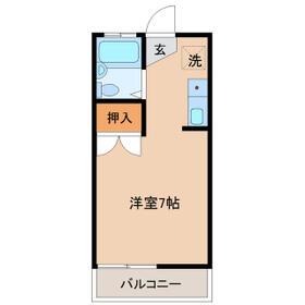 ジョイフルハイツA棟・209号室の間取り