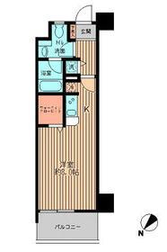 日本橋ファーストレジデンス・0507号室の間取り
