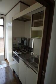ロフト8 205号室のキッチン