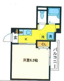 ファインベル3高円寺・302号室の間取り