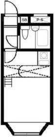 ベルピア東大宮第8-1・206号室の間取り