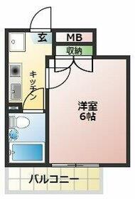 スカイコート戸田公園第4・305号室の間取り