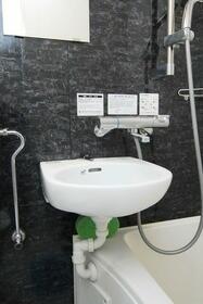 ウエストインパート18 0404号室の洗面所