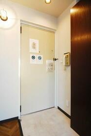 ウエストインパート18 0404号室の玄関