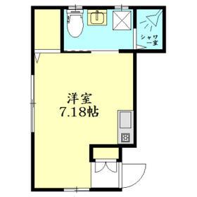SEASIDE VILLA ZUSHI・101号室の間取り
