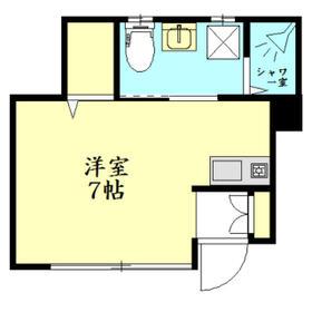 SEASIDE VILLA ZUSHI・102号室の間取り